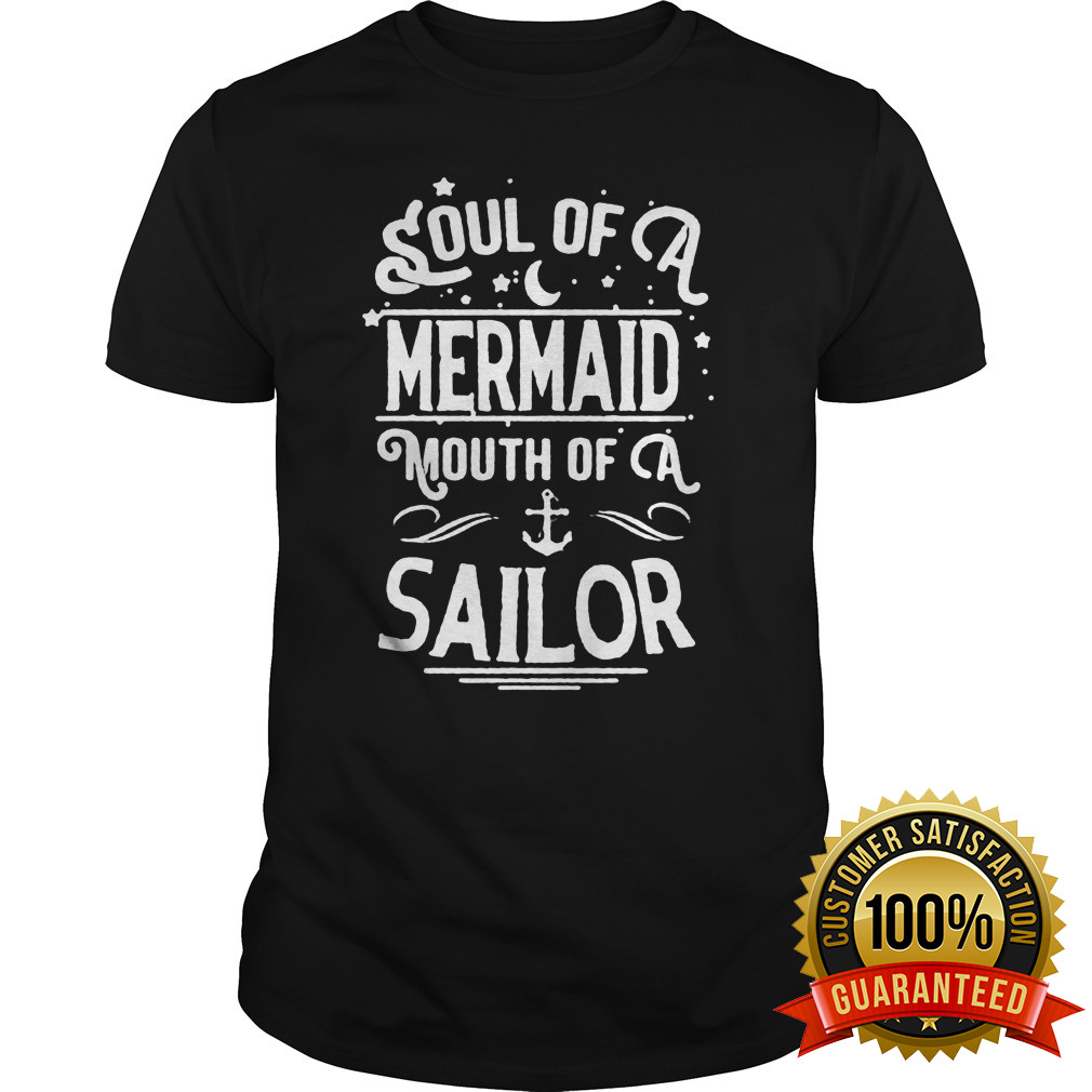 Soul Mermaid Mouth Sailor Shirt