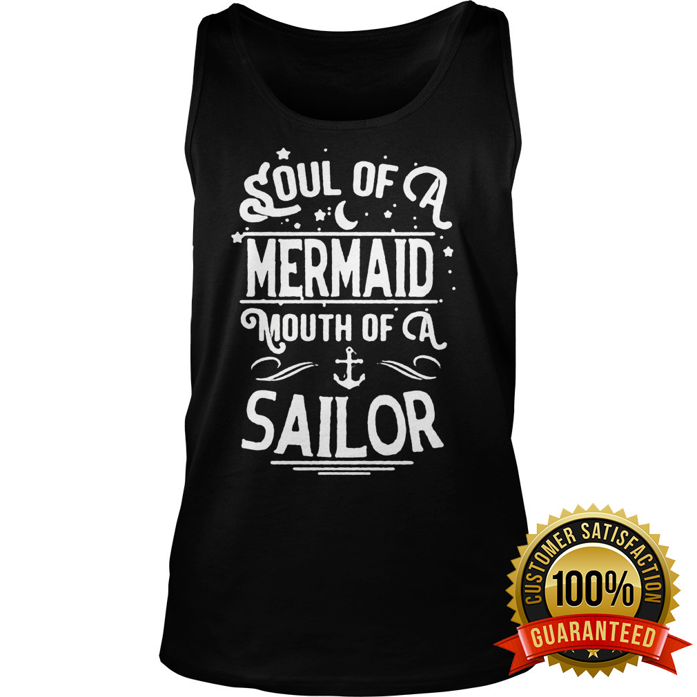 Soul Mermaid Mouth Sailor Tank Top