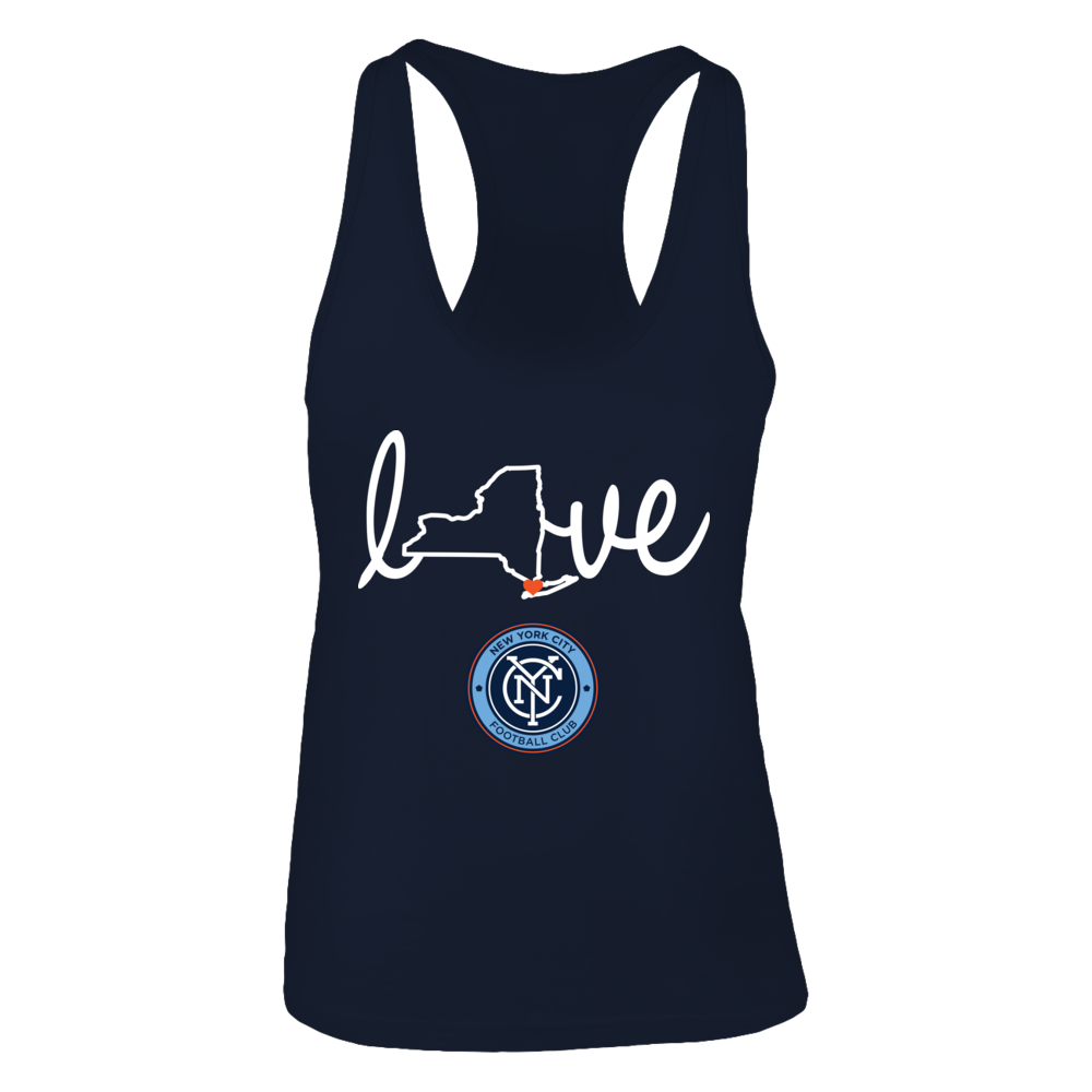 State Love New York City Fc Tank Top