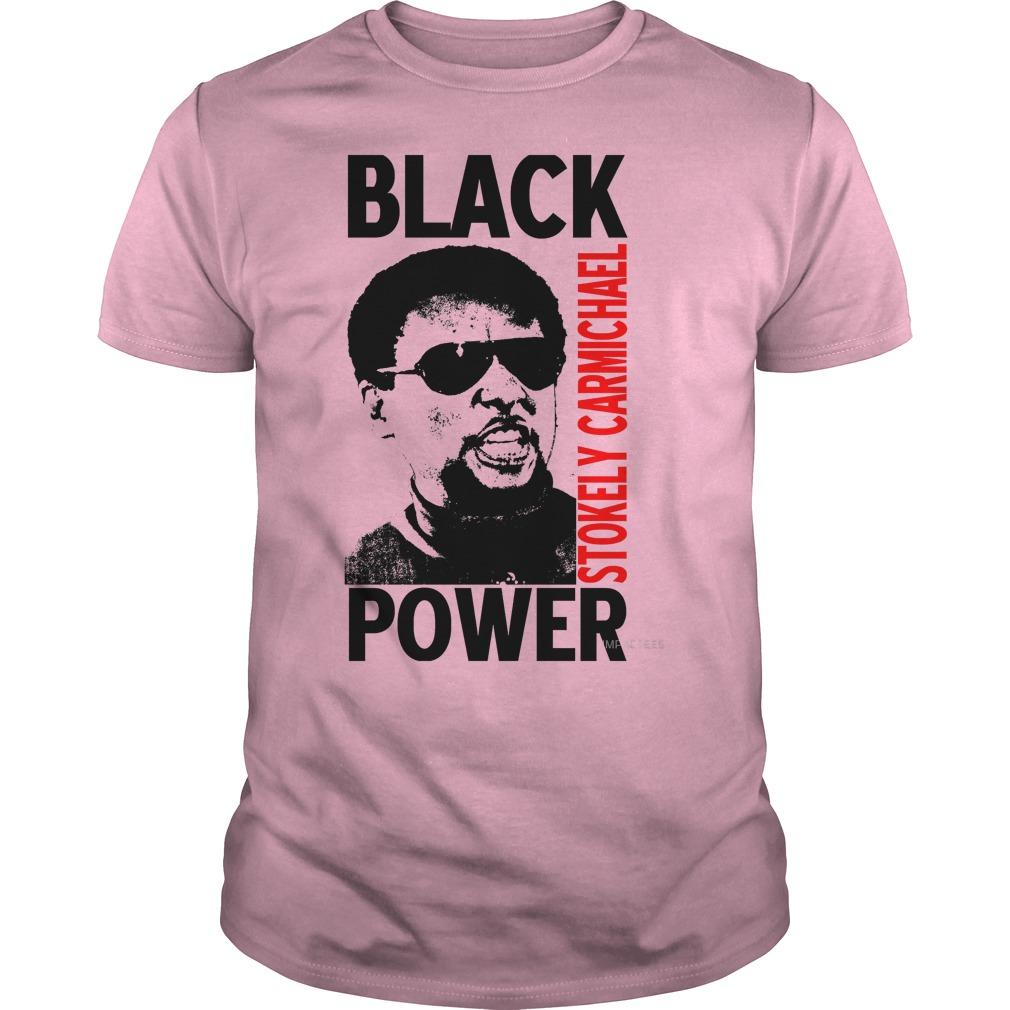 Stokely Carmichael Black Power Lightpink Guy Shirt