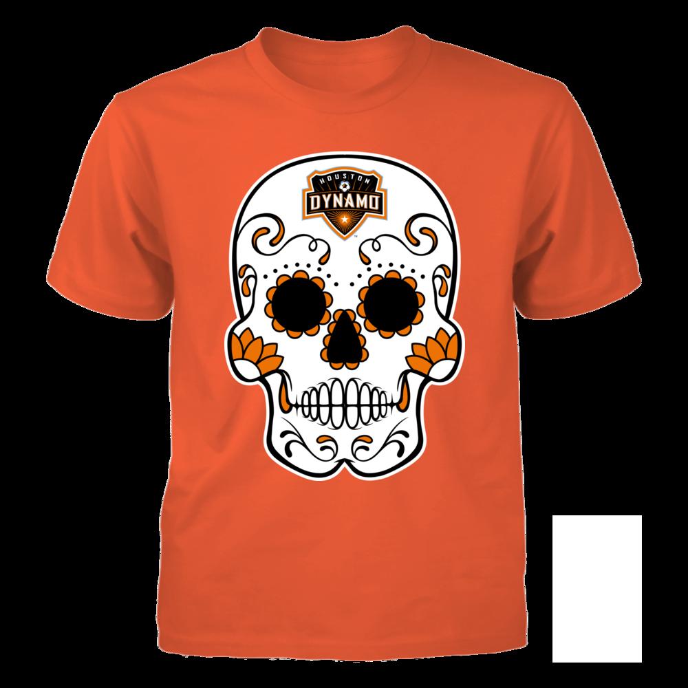 Sugar Skull Houston Dynamo Menshirt