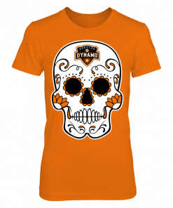 Sugar Skull Houston Dynamo Shirt