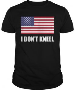 [flag Color Version] Tomi Lahren I Don't Kneel T Shirt