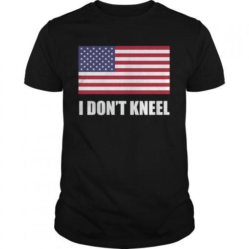 [flag Color Version] Tomi Lahren I Don't Kneel T Shirt
