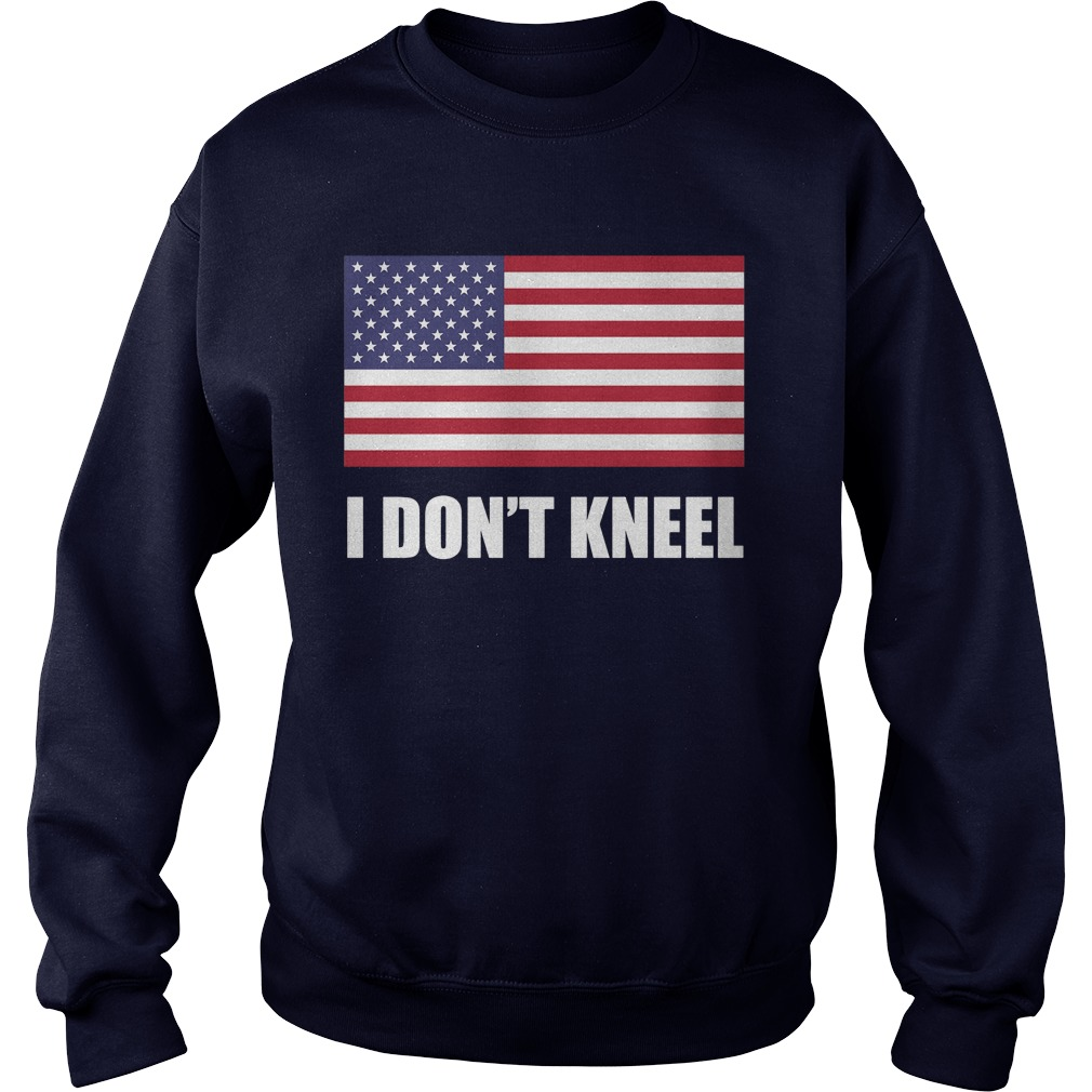 [flag Color Version] Tomi Lahren I Don't Kneel Sweat Shirt