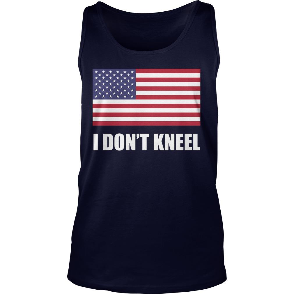 [flag Color Version] Tomi Lahren I Don't Kneel Tank Top