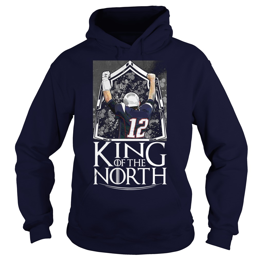 Tom Brady King Of The North Hoodie