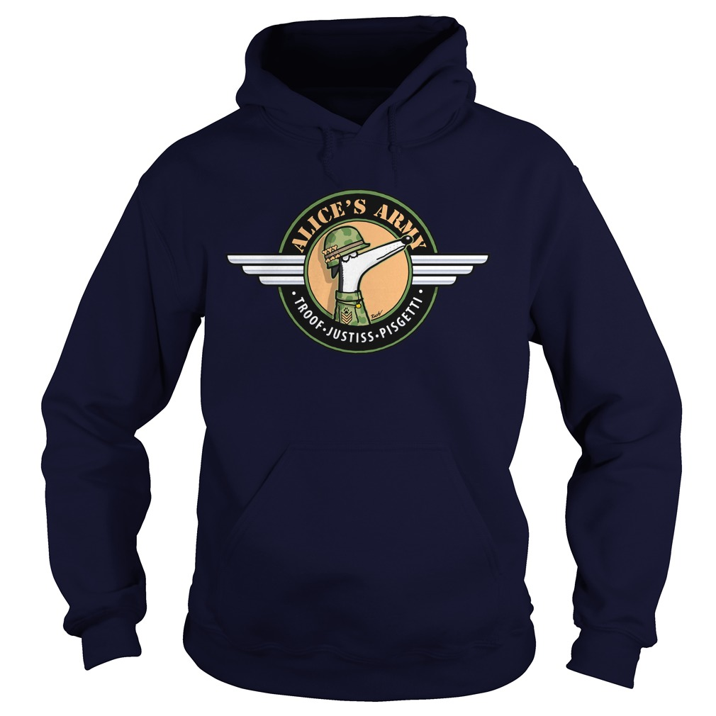 Alices Army Hoodie