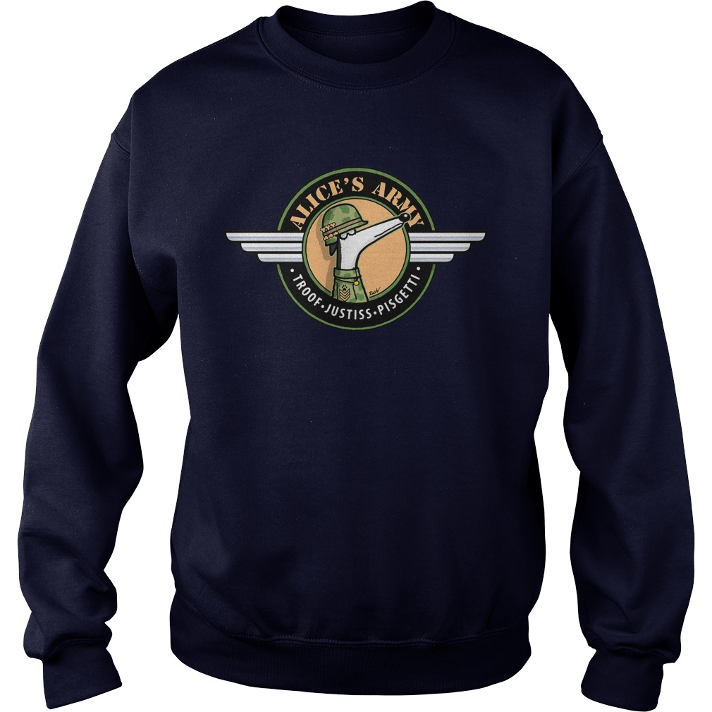 Alices Army Sweat Shirt