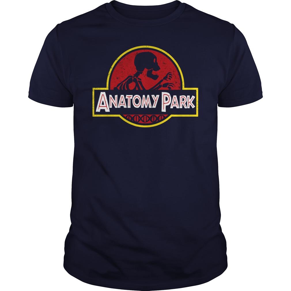 Anatomy Park Rick Ampamp Morty Guys Tee