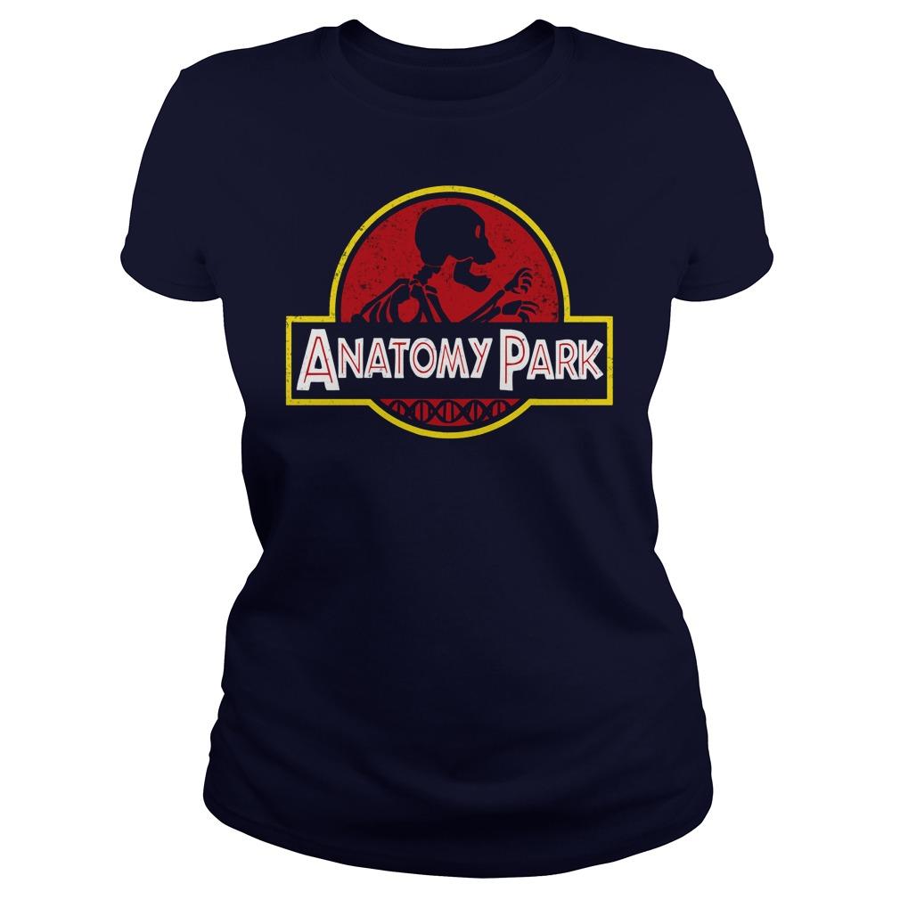 Anatomy Park Rick Ampamp Morty Ladies Tee