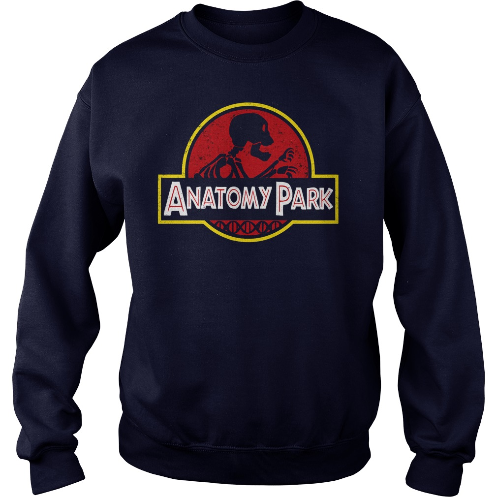 Anatomy Park Rick Ampamp Morty Sweat Shirt