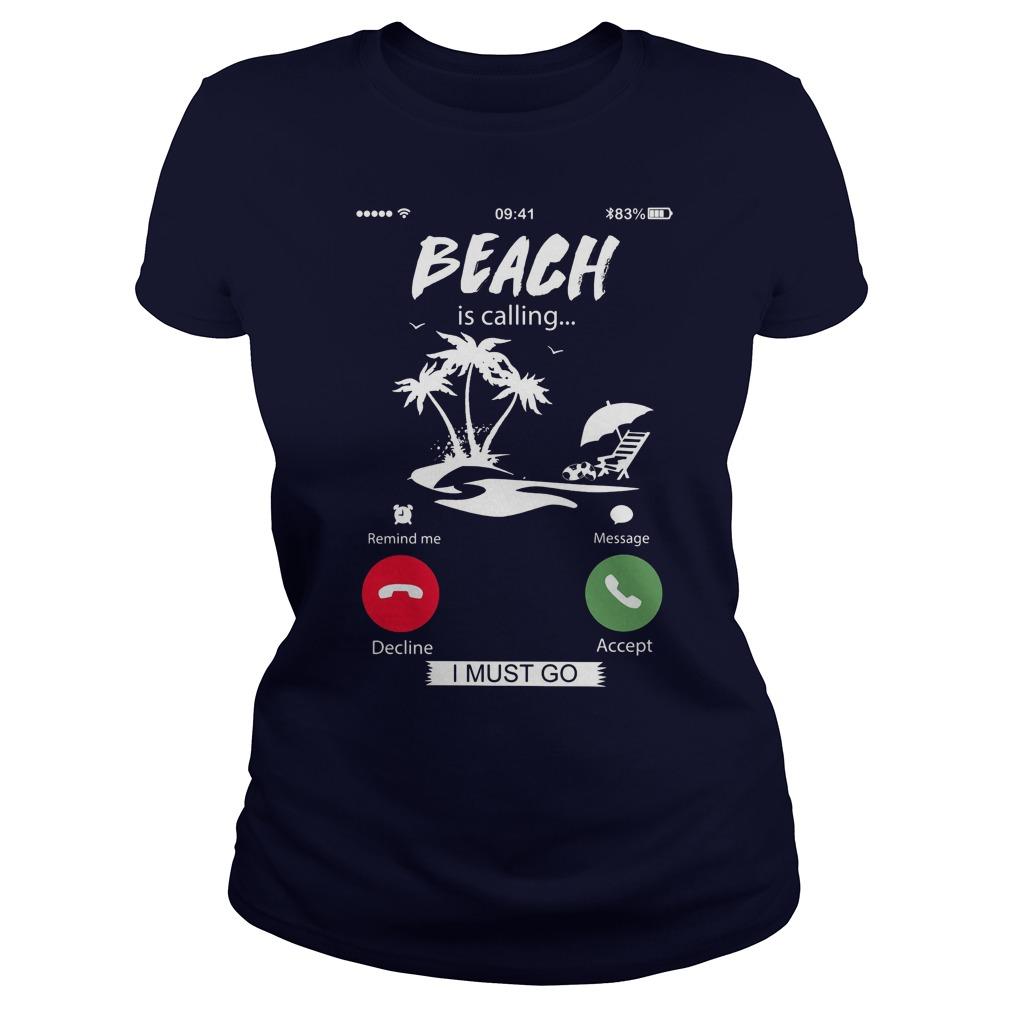 Beach Calling Must Go Ladies
