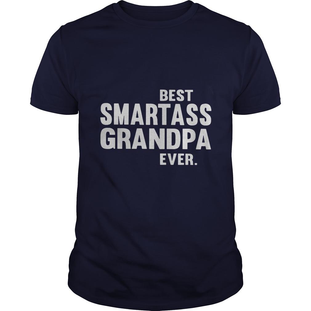 Best Smart Ass Grandpa Ever Guys Tee