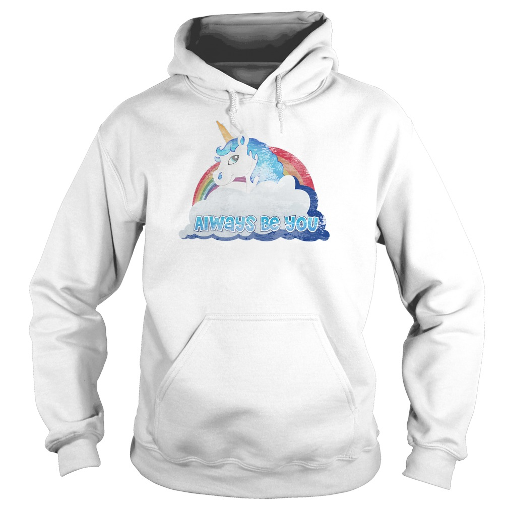 Central Intelligence Unicorn Always Be You Hoodie