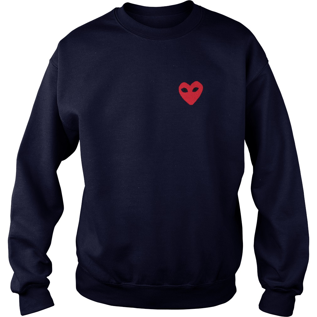 Comme Des Garcons Play Sweat Shirt