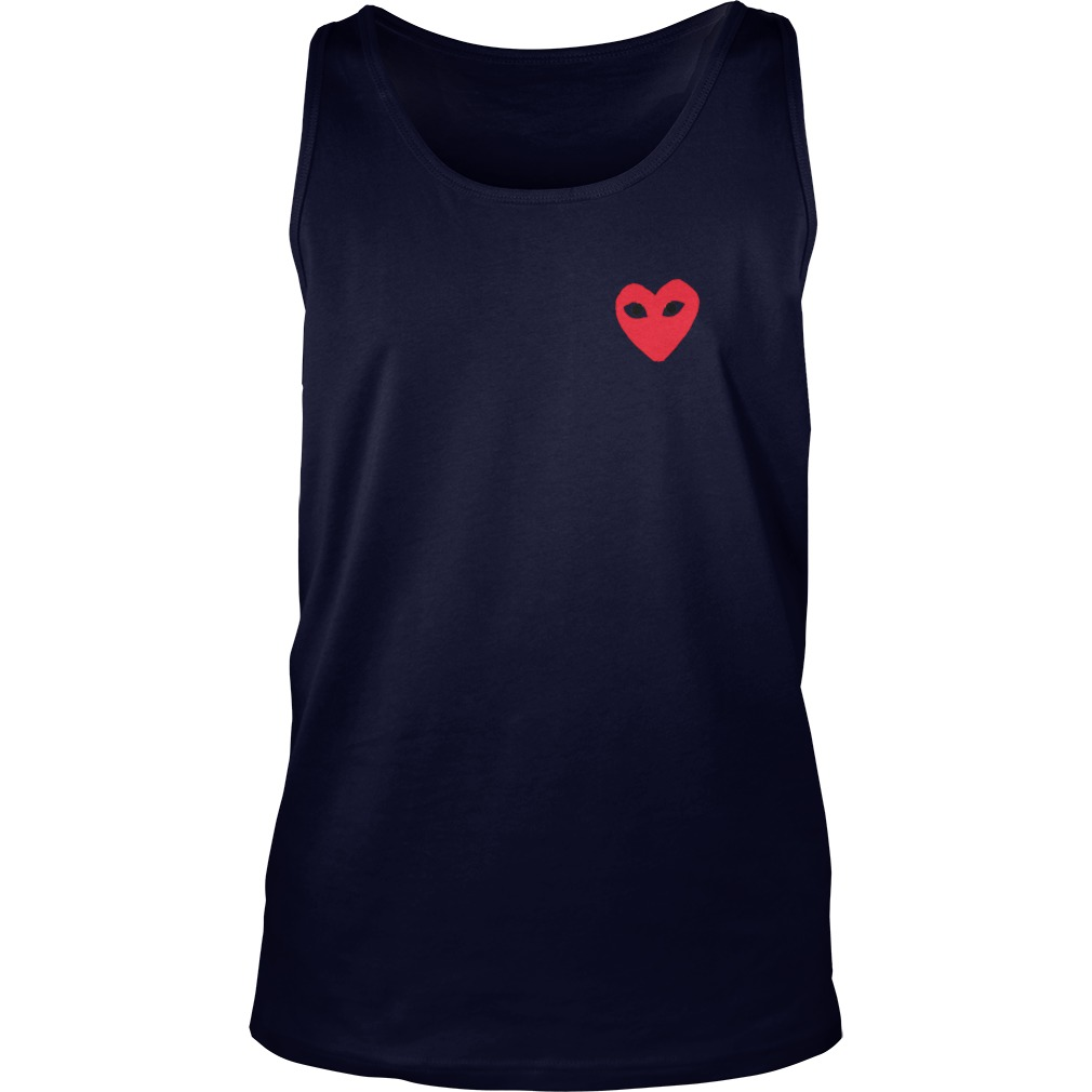 Comme Des Garcons Play Tank Top