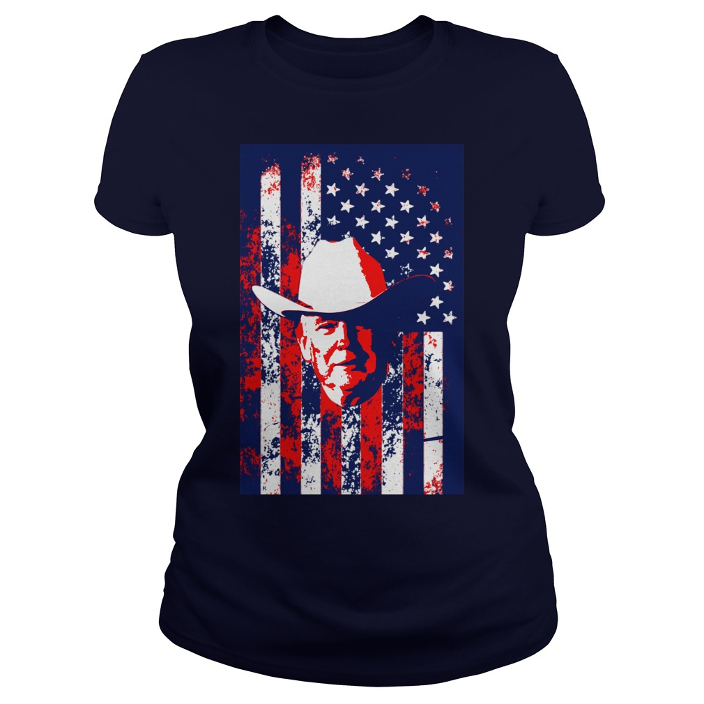 Cowboy Trumps America Ladies Tee
