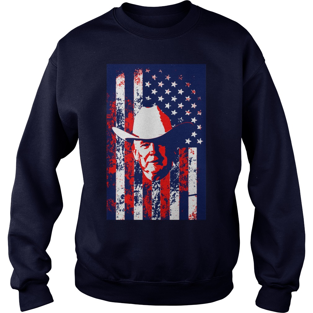 Cowboy Trumps America Sweat Shirt