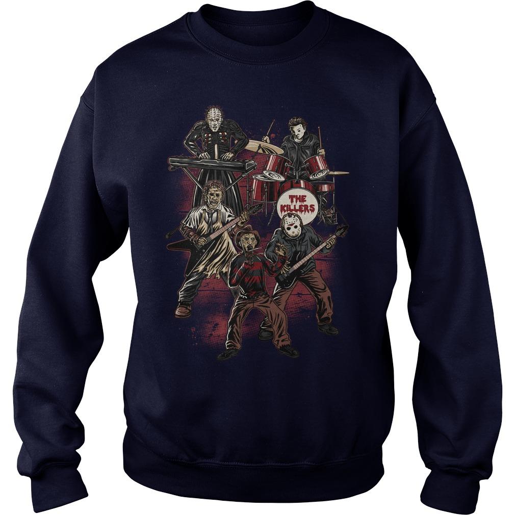 Death Metal Killer Music Horror Sweat Shirt