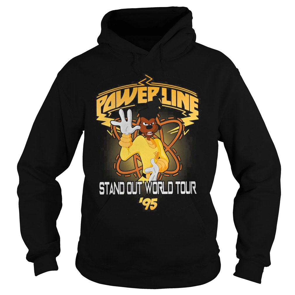 Disney Goofy Movie Powerline World Tour Hoodie