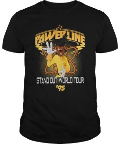 Disney Goofy Movie Powerline World Tour Shirt