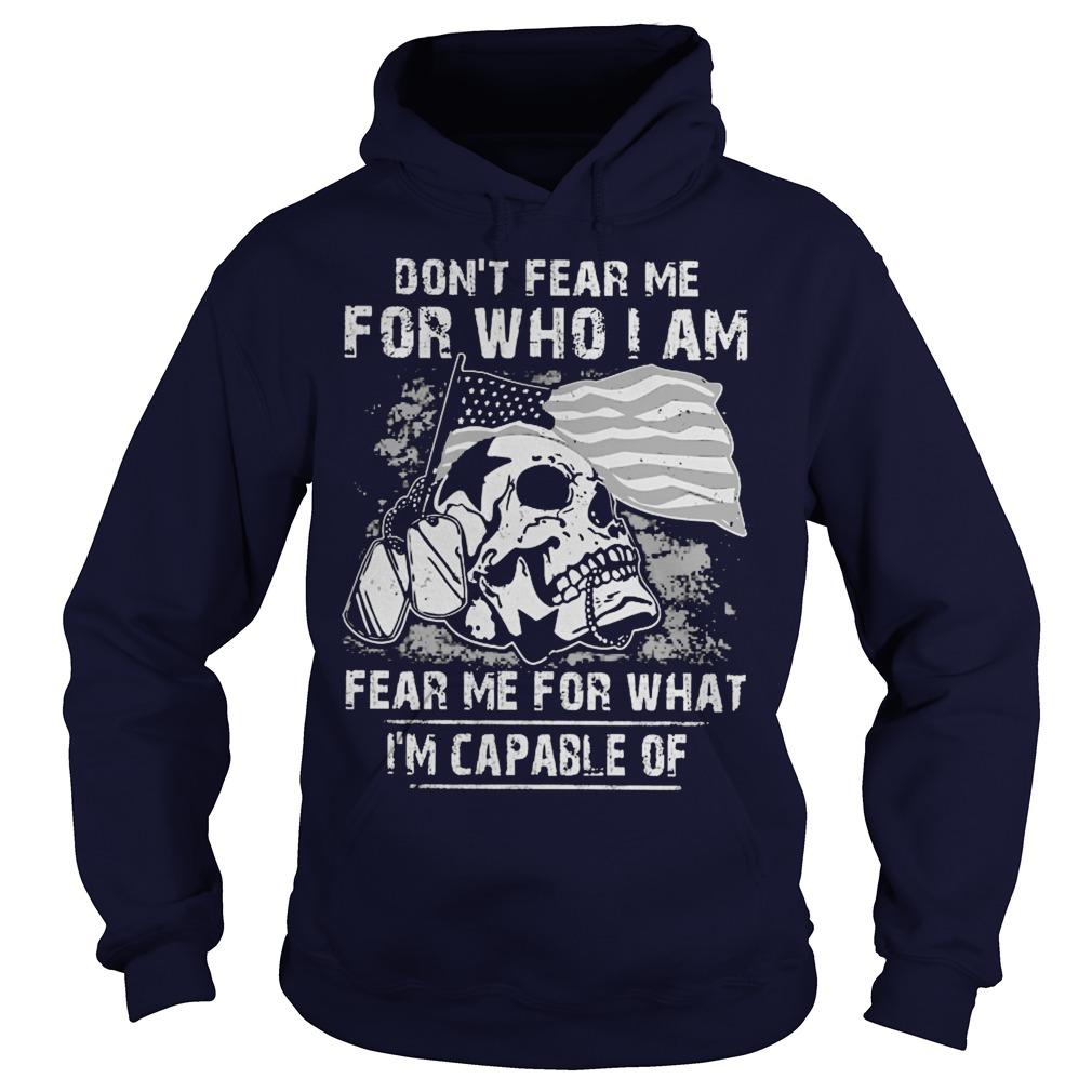 Dont Fear Fear Guy Hoodie