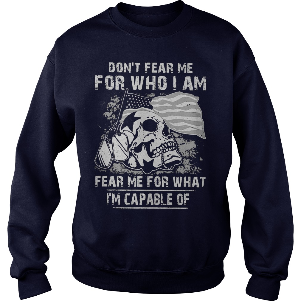 Dont Fear Fear Guy Sweat Shirt