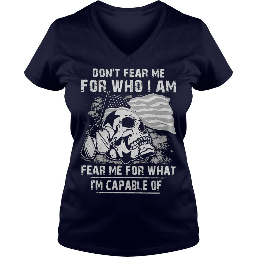 Dont Fear Fear Guy V Neck