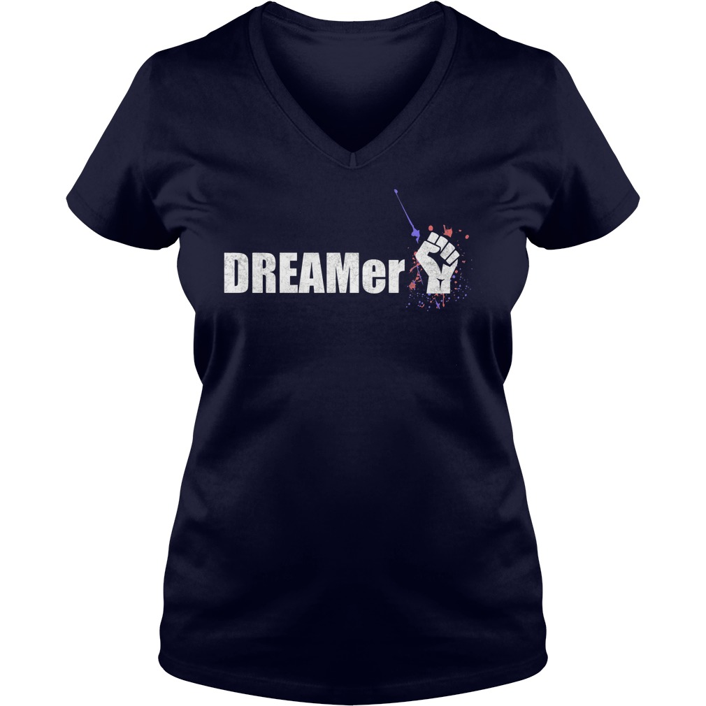 Dreamer Immigrant V Neck