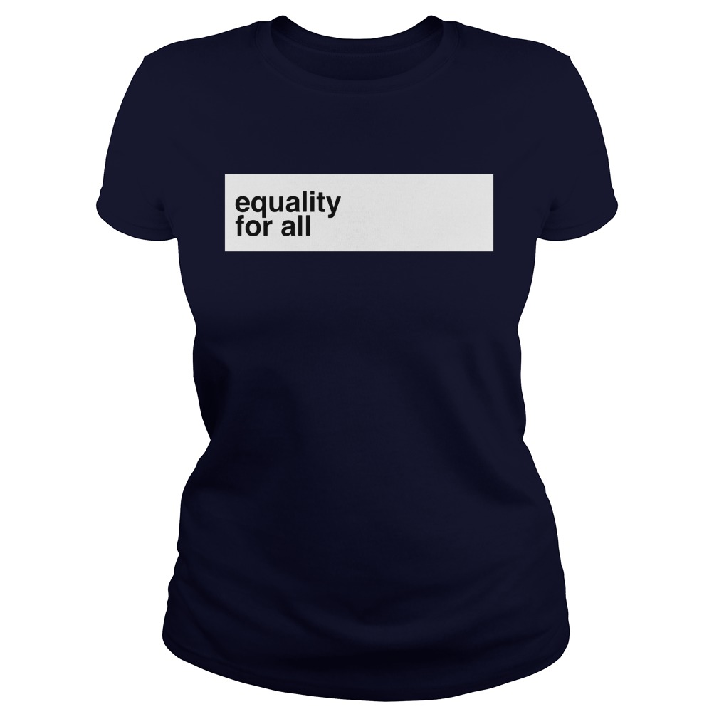 Euqality For All Ladies Tee
