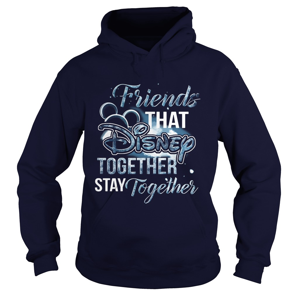 Friends That Disney Together Stay Together Hoodie