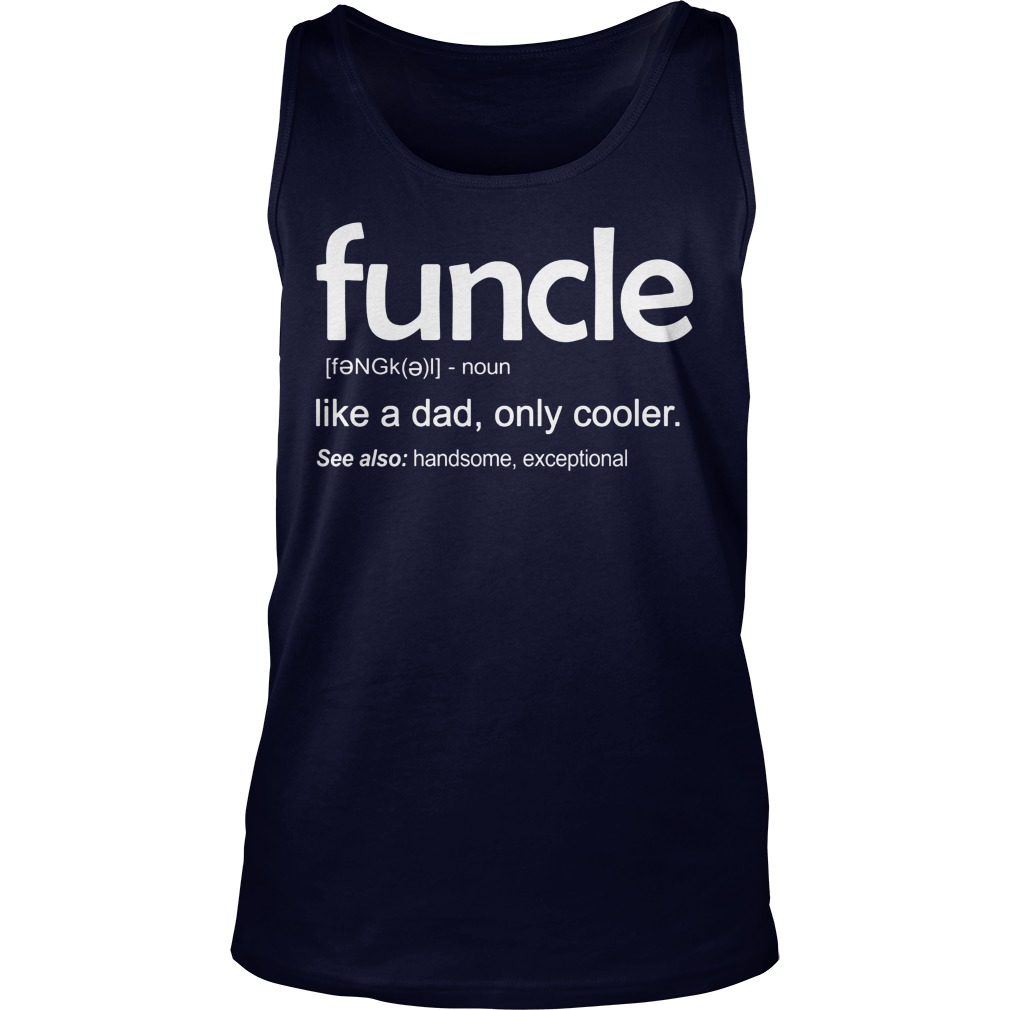 Funcle Definition Wiki Tank Top