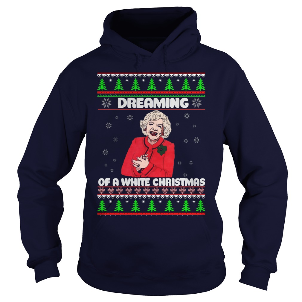 Golden Girls Dreaming White Christmas Hoodie