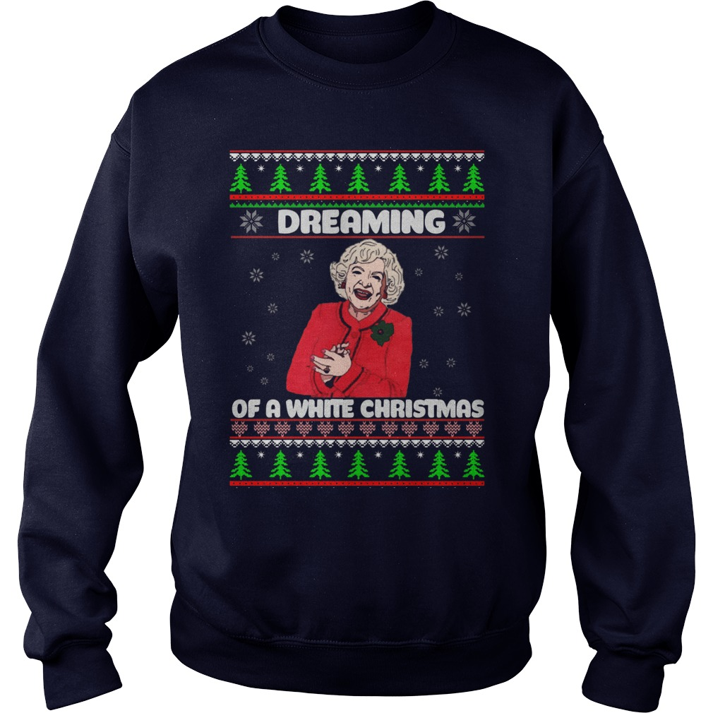 Golden Girls Dreaming White Christmas Sweater