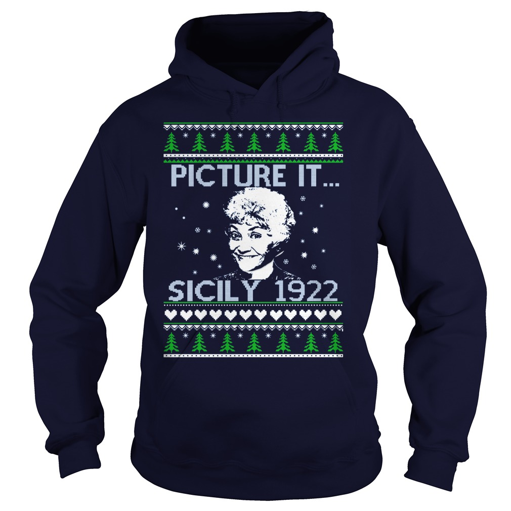 Golden Girls Picture Since 1922 Christmas Hoodie
