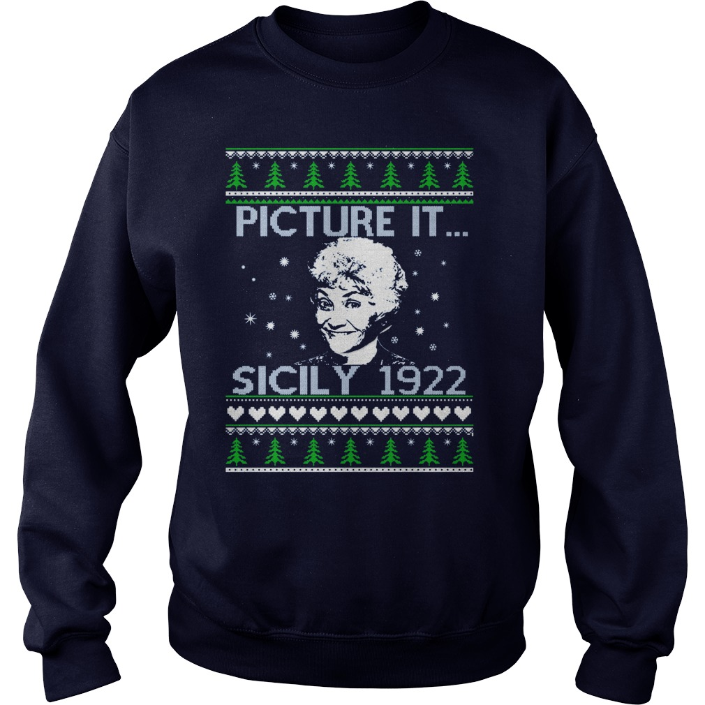 Golden Girls Picture Since 1922 Christmas Sweater