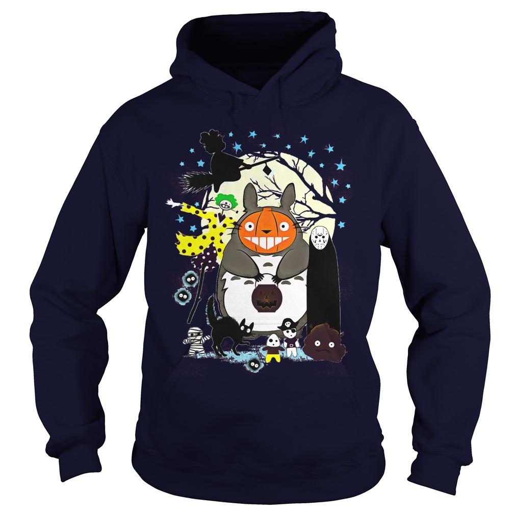 Hallowen Totoro Hoodie