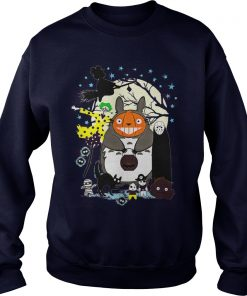 Hallowen Totoro Sweat Shirt