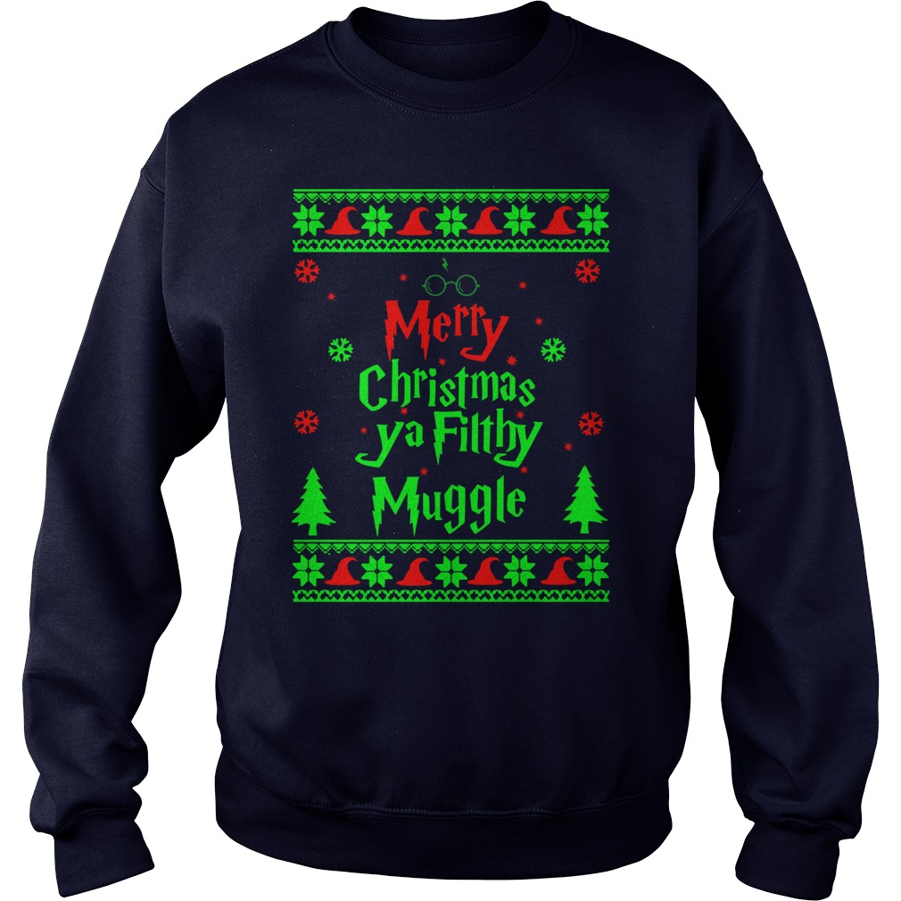Harry Potter Merry Christmas Ya Fit Mugge Sweater