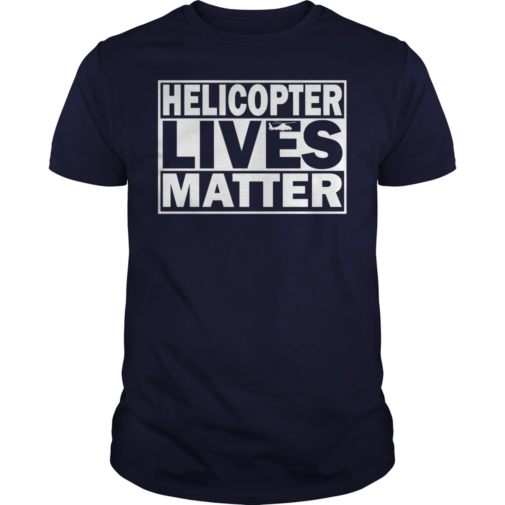 Helicopter Lives Matter Guys Tee