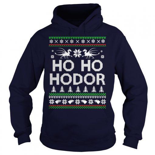 Ho Ho Hodor Christmas Hoodie