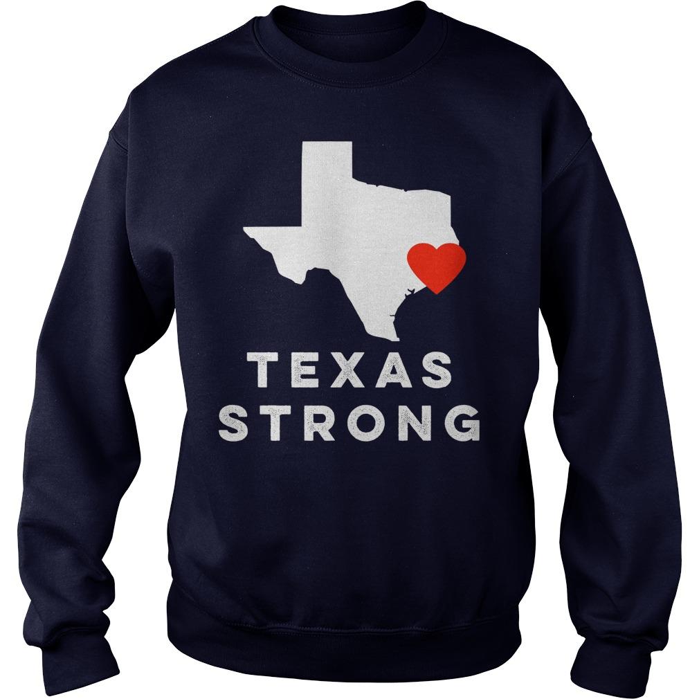 I Love Houston Texas Sweat Shirt