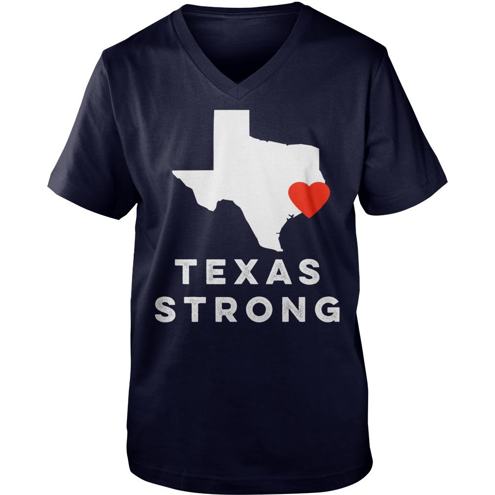I Love Houston Texas V Neck