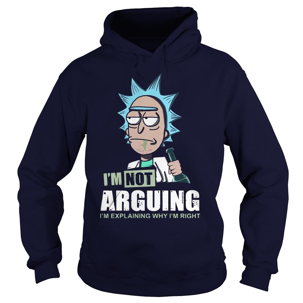 Im Not Arguing Im Explaining Im Right Hoodie