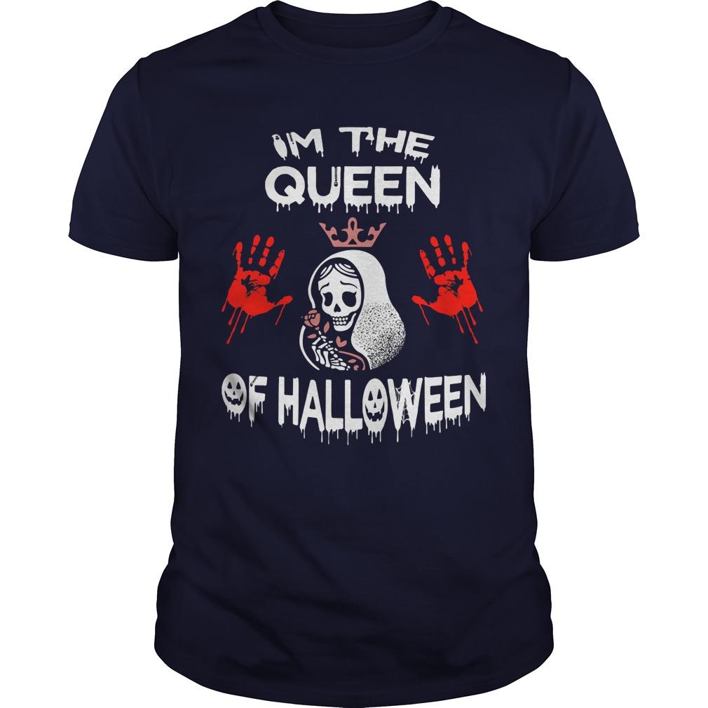 Im Queen Halloween Guys Tee