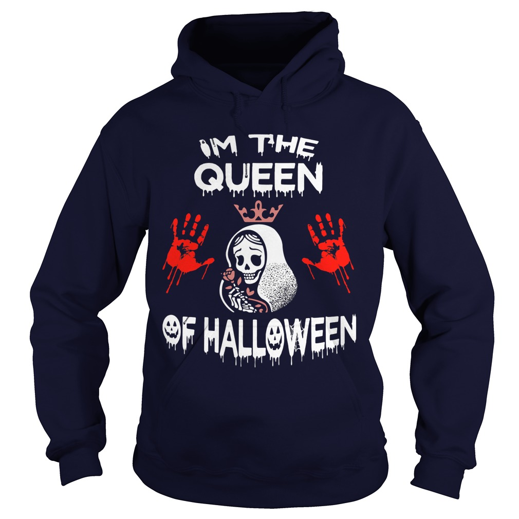 Im Queen Halloween Hoodie