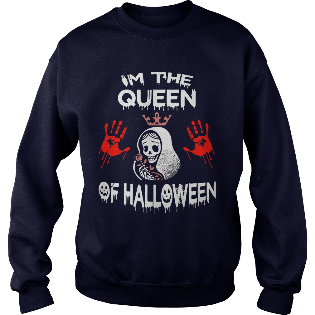 Im Queen Halloween Sweater Shirt