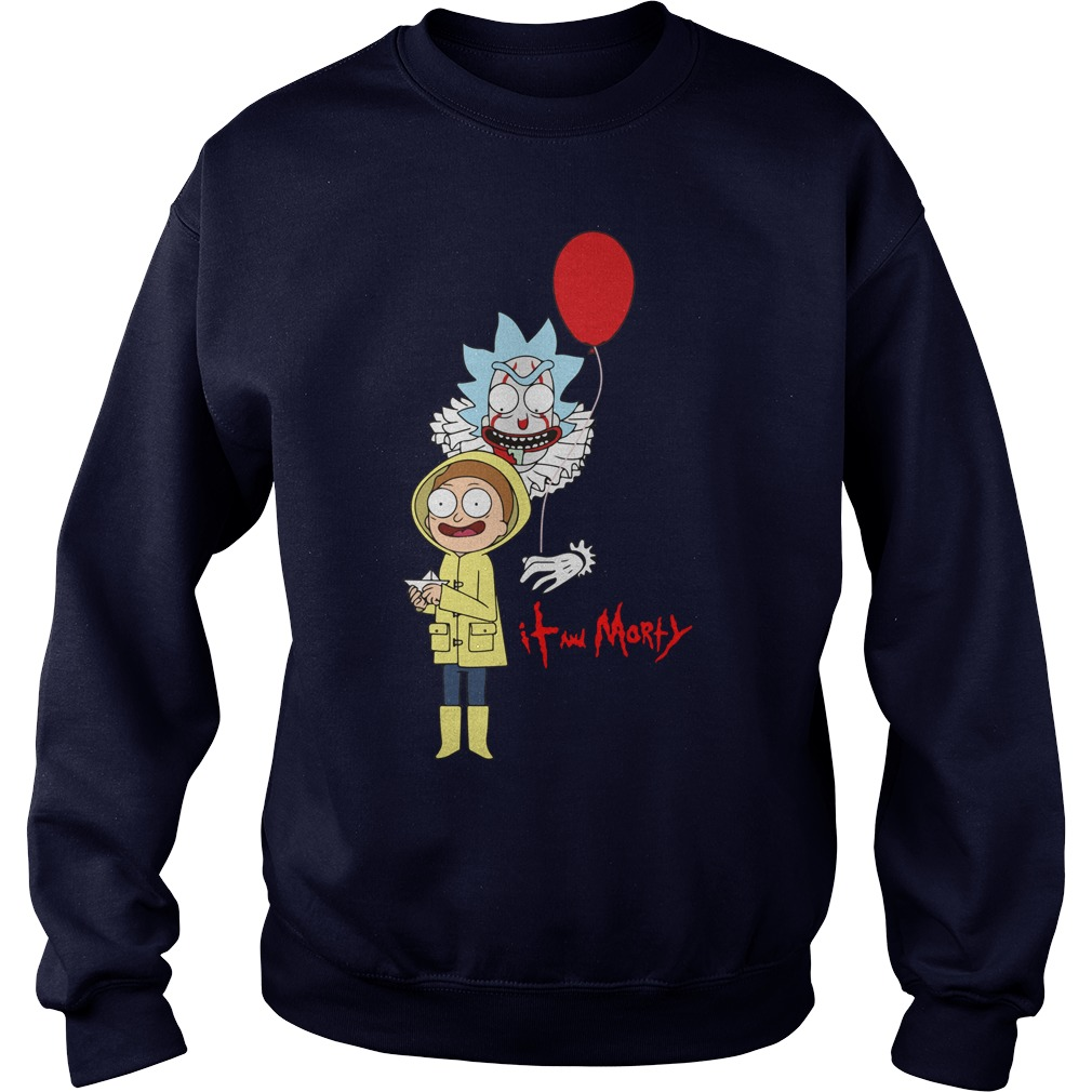 It And Morty Sweat Shirt