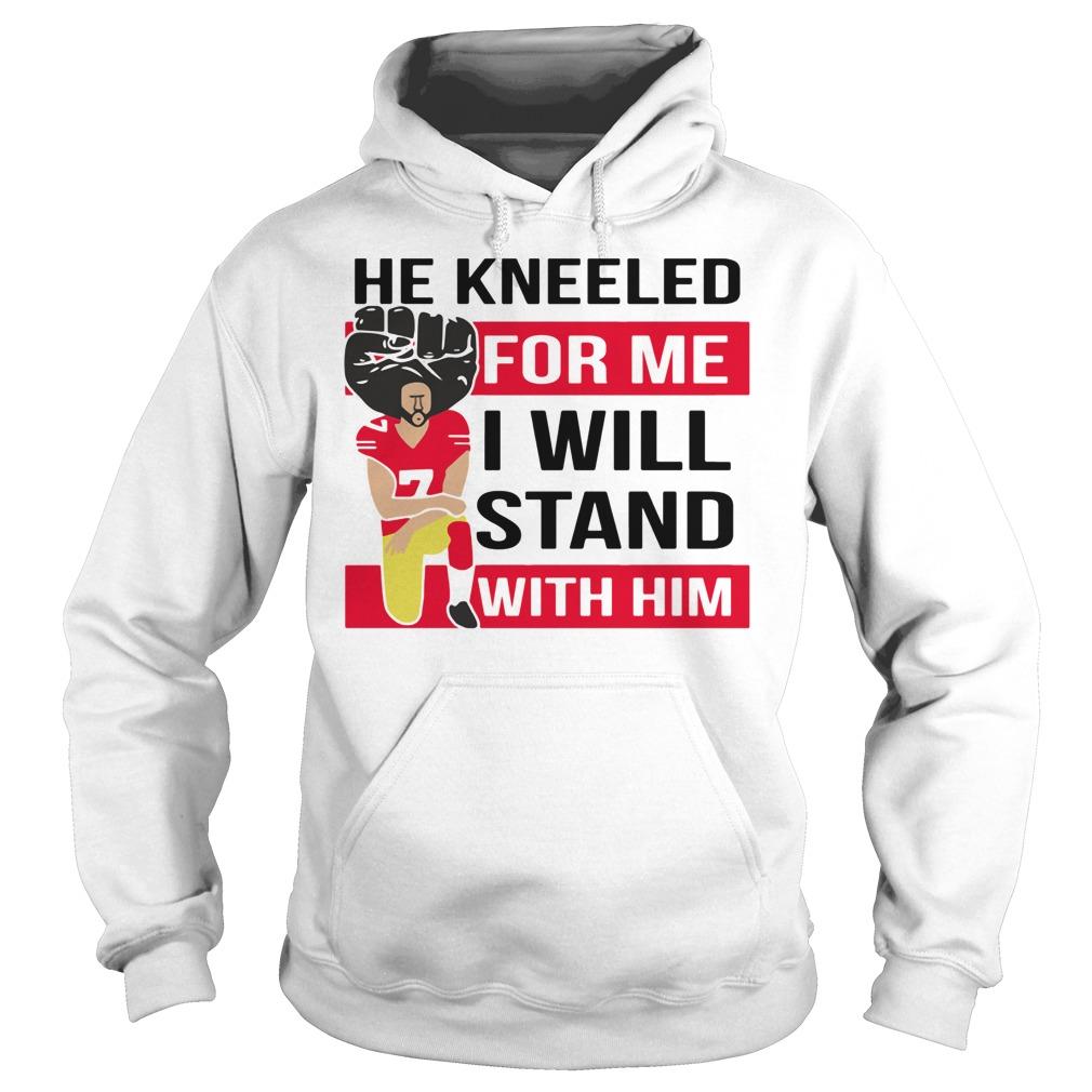 Kneeled Colin Hoodie